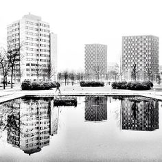 Reflection of a city - Utrecht (Uithof)