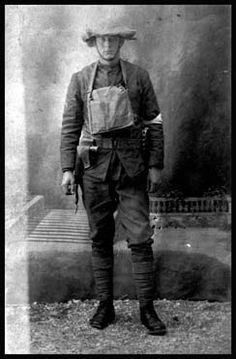 Trench Warfare - North Carolinians in World War I PFC Willard Allen White, Company K 321st Inf 81st Division