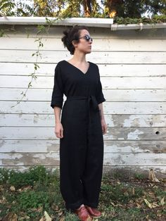 Pattern: Mitchell Jumpsuit by Paddle Boat Studios