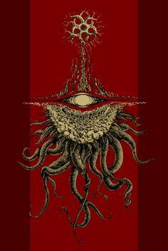 Misadventures in the Cthulhu Mythos: Photo Cthulhu Art, Lovecraft Cthulhu, Hp Lovecraft, Call Of Cthulhu, Arte Horror, Horror Art, Dark Fantasy Art, Dark Art, Arte Alien