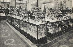 Harry Gordon Selfridge | Selfridges, London - Perfumery.Copyright © Mary Evans/Grenville ...