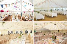 Long-Tables Inspiration---Marquee - Read More on One Fab Day http://onefabday.com/long-tables-wedding/