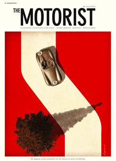 The Motorist by Jonas Bergstrand.  This hangs in our Creative Director's office and I am entranced by it every time I enter.