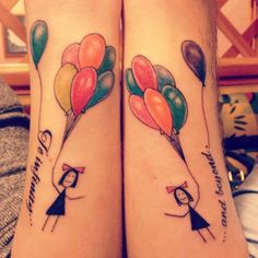 wrist tattoo with balloons - 20  Creative To Infinity And Beyond Tattoos, http://hative.com/creative-to-infinity-and-beyond-tattoos/,