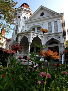 House on Gaston Street, Savannah, Georgia