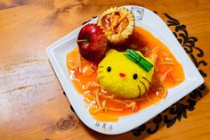 The food is surprisingly good for you. | We Tried The Food At The Hello Kitty Restaurant In Hong Kong