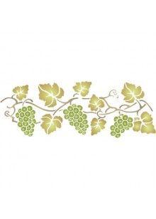 Grapevine Stencil