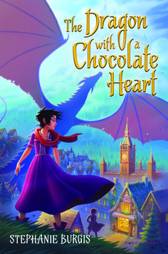 The Dragon with a Chocolate Heart by Stephanie Burgis — Reviews, Discussion, Bookclubs, Lists