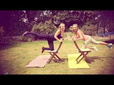 ▶ Simple At-Home Workout! | Anna Saccone - YouTube