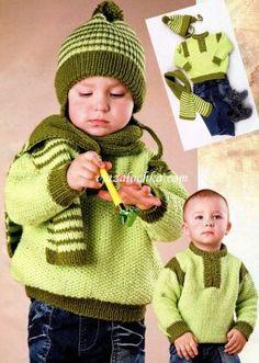 Вязание спицами. Вязание для мальчиков