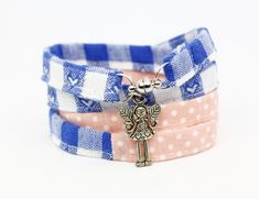 Buntes Wickelarmband aus Stoff Elegant, Bunt, Cuff Bracelets, Accessories, Jewelry, Fashion, Umbilical Cord, Wristlets, Nature