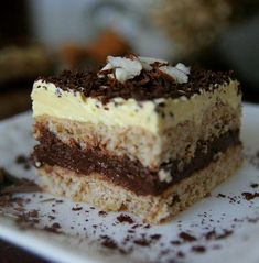 Ez a legporhanyósabb, legomlósabb linzer titka! Just Desserts, Delicious Desserts, Yummy Food, Andes Mint Brownies Recipe, Cheesecake Deserts, Blueberry Cheesecake, Hungarian Desserts, Cake Recipes, Dessert Recipes