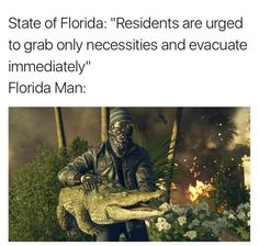 The worst Hurricane Irma memes have already reached Florida Most Hilarious Memes, Funny Pix, Funny School Memes, Funny Relatable Memes, Haha Funny, Funny Jokes, Funny Pictures, Funny Stuff, Stupid Funny