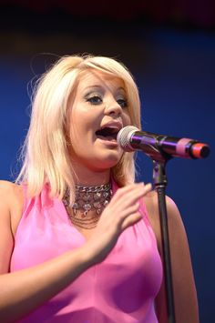Lauren Alaina performs at the HGTV Lodge on June 7, 2013, during CMA Fest 2013.