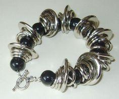 Funky Acrylic Bracelet - via @Craftsy