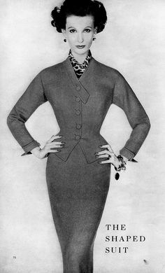 Mary Jane Russell  The sharp suit