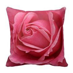 DekoKissen - Rosa Rose Kissen - Pillow - Pink Rose Cushion