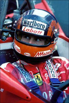 you read the book on Gilles Villeneuve written by Gerald Donaldson . Ferrari Racing, Ferrari F1, F1 Racing, Formula 1, Watch F1, Gilles Villeneuve, Racing Helmets, Car And Driver, Waves
