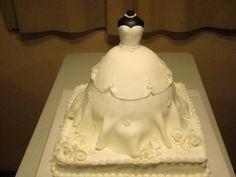 Wedding dress cake By Debbiecakes2012 on CakeCentral.com