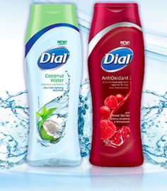 FREE Sample of Dial Coconut Water and Antioxidant Body Wash