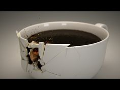 Shattering a Coffee Cup - Part 05 - Compositing in Blender