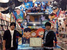 Kaito Ishikawa and Ayumu Murase in Animate Tennouji. Photo by #Haikyuu official twitter