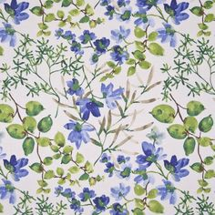 MORNING-BLISS-CORNFLOWER by Kasmir Fabric