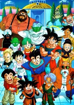 Dragon Ball Z, an awesome time of my childhood. Influencing my views of hard work to improve yourself and teaching me that every defeat makes you stronger. Dragon Ball Gt, Manga Anime, Dragons, Majin Boo, Manga Dragon, Db Z, Animation, Son Goku, Awesome Anime