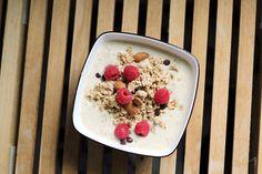 Rezept - Protein Porridge - Haferbrei mit Eiweißpulver