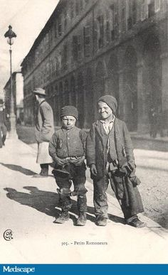 Young French Chimney Sweeps