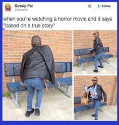 But first let me take a selfie! Ok its game time! | Funny ... |Its Scary Movie Time Meme