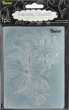 Darice Embossing Folder 4.25X5.75-Butterfly Frame