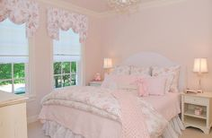 shabby chic pink room decor | ... Country Style: Romantic Home Decor - Forget the Shabby - Chic Abounds