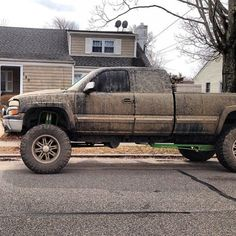 This is what my truck will look like out in front of my house! Lol