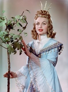 """Ostfilm - The Singing Sounding Tree - GDR - Christel Bodenstein as haughty princess in the DEFA film """"The Singing, Sounding Little Tree"""" - Sing Movie Characters, Tree Rings, Beautiful Costumes, Family Movies, Movie Costumes, Teenage Years, Movies Showing, Film Movie, Classic Tv"""