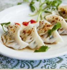"#Sydney's inaugural ""Meat-free Week"" has inspired this article about best vegetarian eats including these pretty dumplings from Nourishing Quarter in Cleveland Street, Redfern."