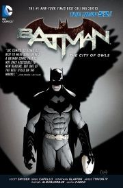 DC Comics Batman Volume 2 The City of Owls Night of the Owls continues here! Batman must stop the Talons that have breeched the Batcave in order to save an innocent lifeand Gotham City! In the backup story learn more about the Pennyworth famil http://www.comparestoreprices.co.uk/january-2017-6/dc-comics-batman-volume-2-the-city-of-owls.asp