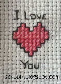 very easy cross stitch pattern