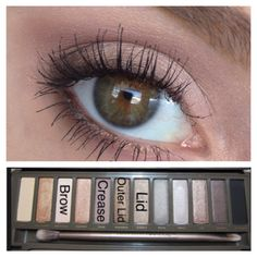 Naked 2 Palette look by @colourmepeach3
