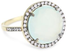 Kalan by Suzanne Kalan Round Chalcedony Ring:Amazon:Jewelry