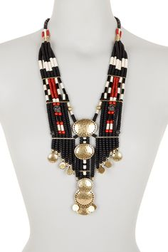 Lucky Brand   African Multi Strand Necklace   Nordstrom Rack