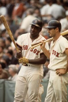 My Sports Obsession II — George Scott & Carl Yastrzemski Red Sox Baseball, Baseball Socks, Baseball Photos, Sports Baseball, Baseball Players, Boston Baseball, Mlb Players, Baseball Field, Boston Red Sox