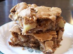 """Apple """"brownies"""" are THE best Fall baking recipe"""