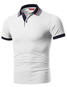 17f36267 Men's Clothing, Shirts, Polos, Men's Solid Cool Dri-Fit Active Leisure  Short Sleeve Polo T-Shirt Tee - White -
