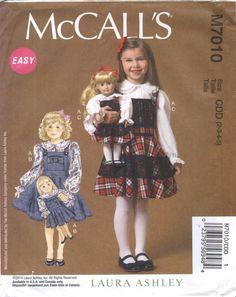 7c36186a1586 McCall s 7010 Children s Girls  18