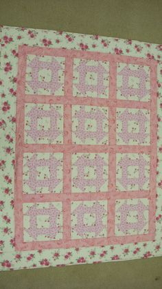 Charity quilt - fundraiser for breast cancer