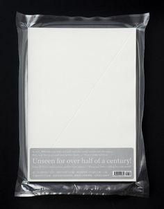 Phantasmagoria / English version / 2013 / Wang Zhi Hong / Cryovac sealed with embossed cover Book Design Layout, Print Layout, Editorial Design, Mises En Page Design Graphique, Book Wrap, Buch Design, Design Design, Overlays, Printing And Binding