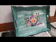 Painting On Wood, Chalk Paint, The Creator, Handmade, Crafts, Vintage, Design, Youtube, Home Decor