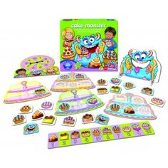 Cake Monster - Orchard Toys Games - Puzzles & Games - Catalogue