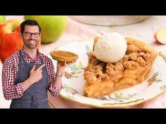 Amazing Apple Crumble Pie - YouTube